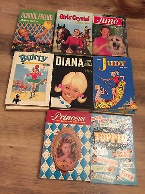 Assorted Vintage Annuals 65-67