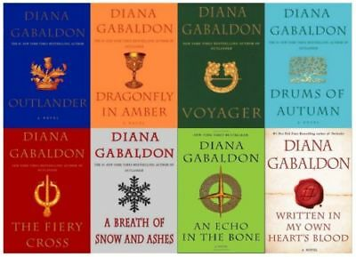 Outlander Series Full Set Diana Gabaldon 10 Bundle Kindle Ebook -instant respons