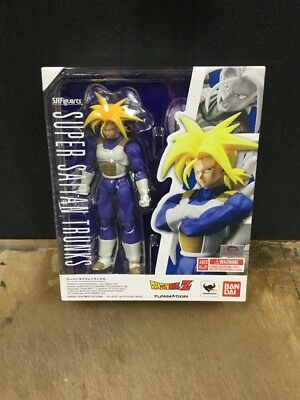 Genuine Bandai Tamashii S.H Figuarts Dragonball Z Super Saiyan Trunks USA New