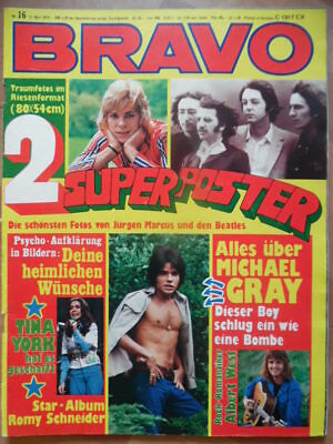 BRAVO 16 - 1974 Albert West Tina York Alice Cooper Alex Harvey Band Michael Gray