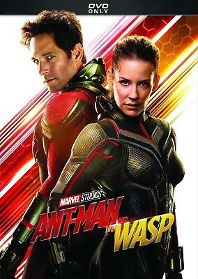 Ant-man and the Wasp DVD 2018-Brand New Free First Class Same Day Shipping