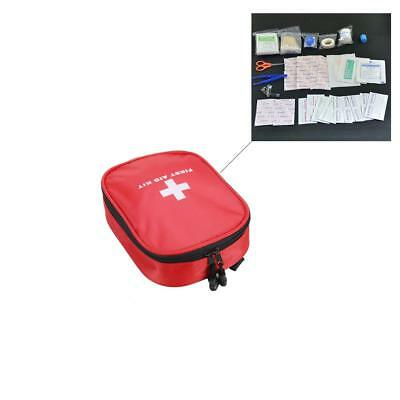 Pack of 120Pcs Car First Aid Kit Medical Emergency Kit Treatment Pack Camping
