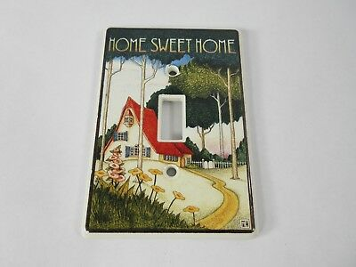 Mary Engelbreit -Tile Light Switch Wall Plate Cover MARY'S COTTAGE Tudor Vintage