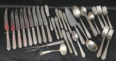 Mary Ii By Lunt Sterling Silver Regular Size Place Setting 4pc s