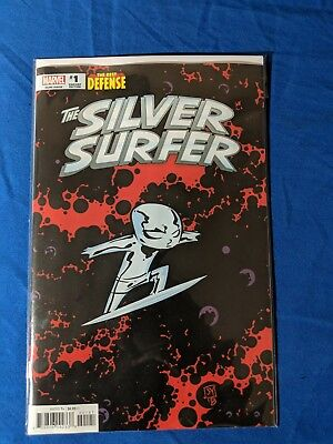 Defenders Silver Surfer #1 Cover B Variant Skottie Young Baby Cover