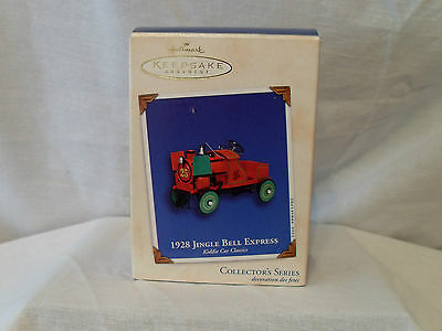 Hallmark 2002 Keepsake 1928 Jingle Bell Express Ornament In Box