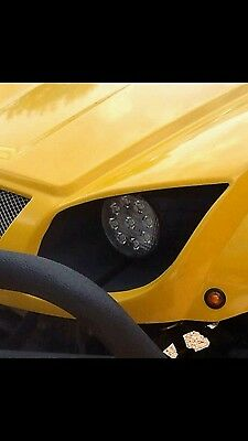 Direct Fit LED Headlights for a Rhino 660, 700, Grizzly 600, 660 and Kodiak 700