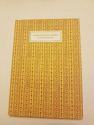Max Beerbohm: A Stranger In Venice, The Winged Lion, 1993, Limited Edition