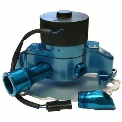 PROFORM 68220B Electric Water Pump in Blue Epoxy PC Finish for SB Ford