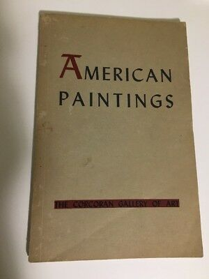 Handbook of the American Paintings in the collection of the Corcoran Gallery Art