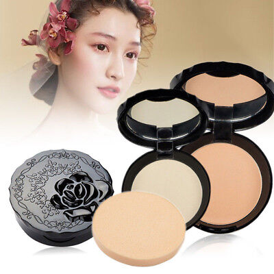 Cosmetic Makeup Facial Face Pressed Powder Foundation Longlasting Oil Control