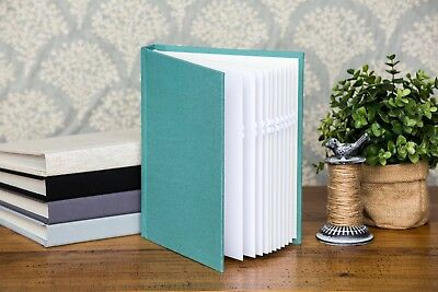 "Melbourne 5""x7"" cloth photo album self adhesive wedding birthday baby gift"