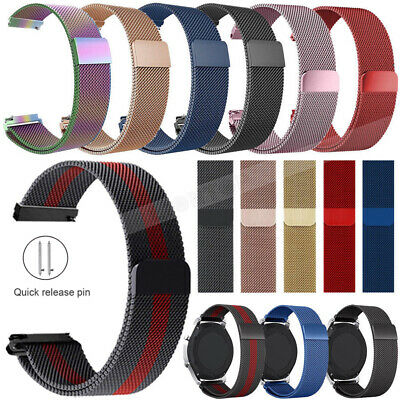 New Watchband Milanese Mesh Stainless Steel Watch Straps Band 15/16/18/20/22mm