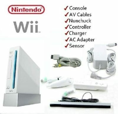 Nintendo Wii white console starter package. FREE EXPRESS POST AUSTRALIA WIDE