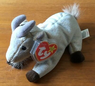TY BEANIE BABY   Babies Collectors Plush - Hopsy the Blue   White ... 44a858762fc6