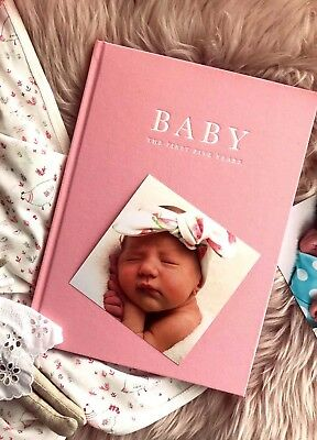 Write to Me - Baby Journal in Limited Edition Pink - FINAL SALE