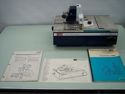 Lkb Bromma Model 7800 Lab Microtome Part No. 90 90 0164 & Books