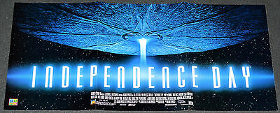 Independence Day 1996 Orig. Ds Video Release Movie Poster! Alien Invasion Epic!