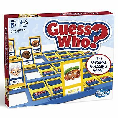 Hasbro Guess Who New Edition Classic Family Kids Game The Original Guessing Toy