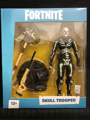FAST SHIPPING Fortnite Skull Trooper 7 inch Action Figureby McFarlane IN STOCK