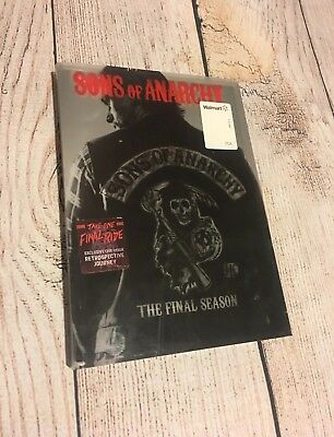 Sons Of Anarchy The Final Season 5 Disk DVD