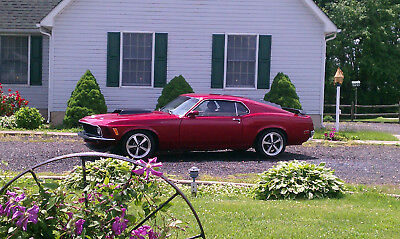 1970 Ford Mustang mach1 1970 Mustang Mach1 Retro-Mod