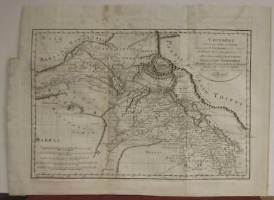 Tibet North India Afghanistan 1804 Rennell Unusual Antique Copper Engraved Map