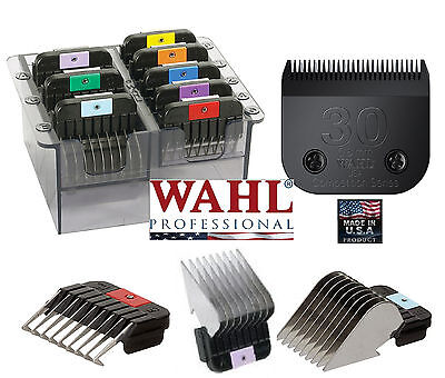 Wahl Acero Inoxidable Broche Peine Set&ultimate #30 Hoja Fit Most Andis Alicates