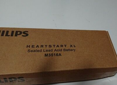 New Philips Heartstart AED xl Battery 3516A