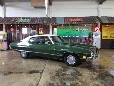 1972 Le Mans Luxury 2dDr Hard Top Green Pontiac Le Mans with 48,906 Miles available now!