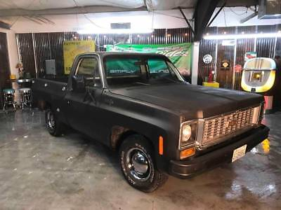 1974 Other Pickups Short box Fleet Side Black Chevrolet C/K 10 Series with 56,738 Miles available now!