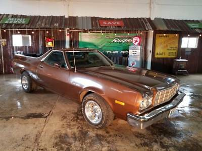 1973 Ranchero Rachero 500 Brown Ford Ranchero with 86,946 Miles available now!