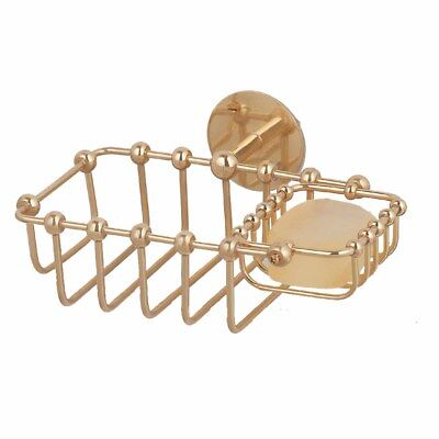 Solid Brass Soap Dish Sponge Basket Wall Mount 2 In 1 | Renovator's Supply