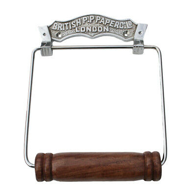 Antique Toilet Paper Holder Chrome British Paper Fixture | Renovator's Supply