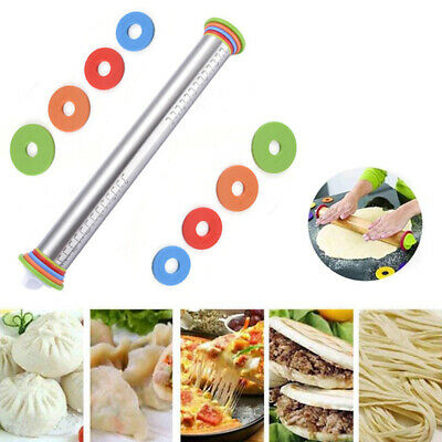 17inch Non Stick  Adjustable Rolling Pin  Dough Roller Baking Roller Pastry Mat