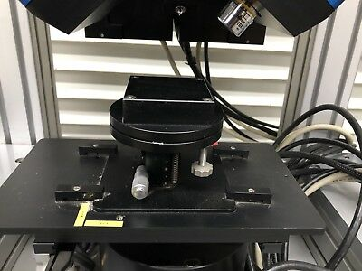 Laser on Isolation Table