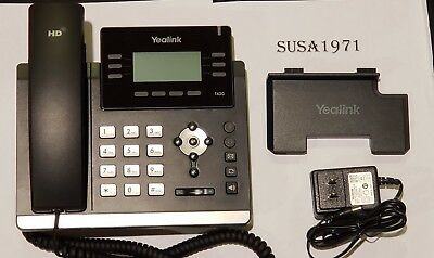 Yealink SIP-T42G Gigabit VoIP IP Phone - Tested - New Condition