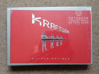 Kraftwerk - Minimum - Maximum LapTop/ Notebook 2DVD & 2 CD /SEALED /XMASS GIFT