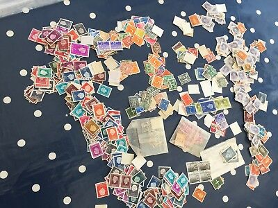 Holland 100's of stamps off paper direct from estate ideal sorter much old