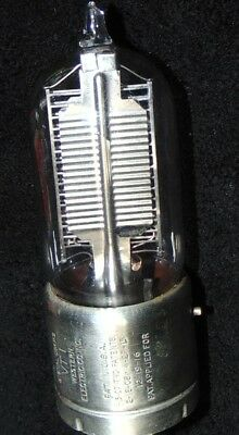 Western Electric  VT-1 Tube Real gold Pin's Work's Very good Clean Rare w/ Gold