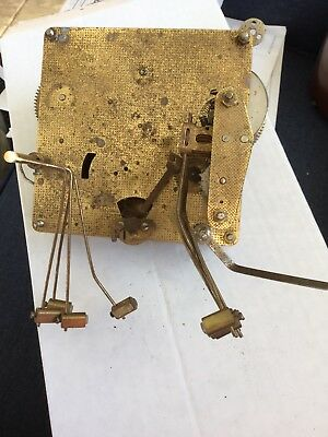 Vintage Clock Movement Mechanism FHS Made In Germany