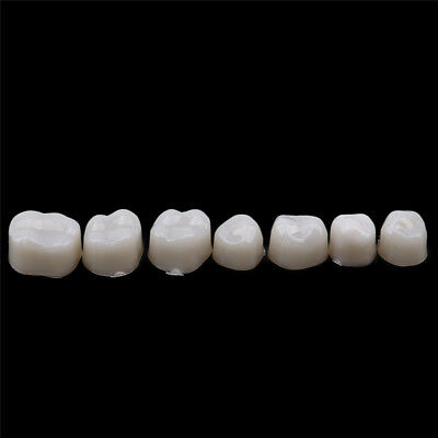 Resin Dental Crowns Temporary Teeth Crown Whitening Anterior Molar Crown ST