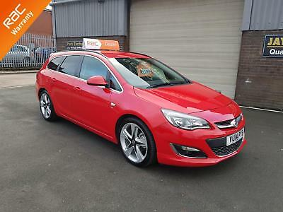 2014 VAUXHALL ASTRA 1.7CDTi ECOFLEX SPORTS TOURER SRI ONLY 68,000 MILES