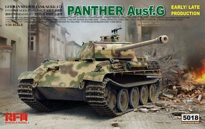 Ryefield-Model 1/35 5018 Panther Ausf.G Early/Late Production