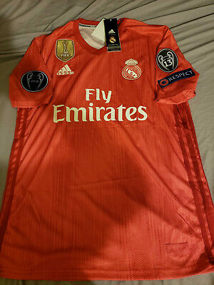 0f0aeee86 MEN S CUSTOM 18 19 REAL MADRID HOME JERSEY (PATCH BADGES) -  49.99 ...