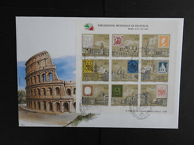 Italien 1985 Expositione Mondial Groß FDC (172)