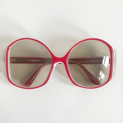 Vintage Paco Rabanne Candy Cane Sunglasses 1970s Hippie Sonnenbrille