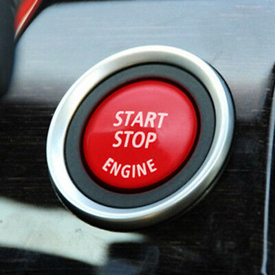 Red Car Engine Start Push Button Ring Trim for BMW 3/5 Series E90 E91 E92 E93 US