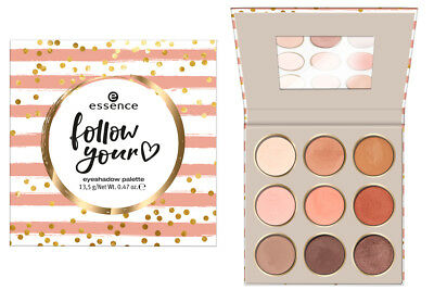 "ESSENCE ""follow your heart"" eyeshadow palette  NEU&OVP"