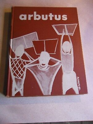 "Vintage, Indiana University Yearbook 1953 ""Arbutus"" Bloomington Indiana"